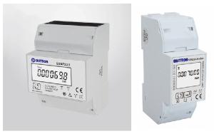 SDM72DR trefas elmätare och SDM230 enfas elmätare
